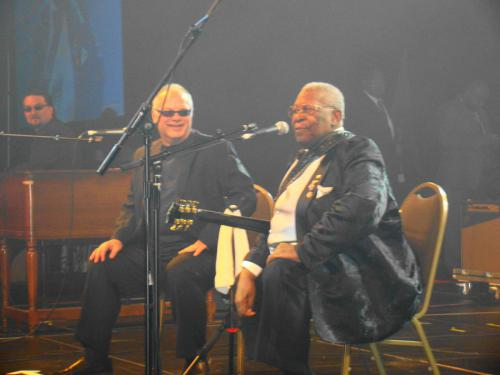 Playing with B.B. King
