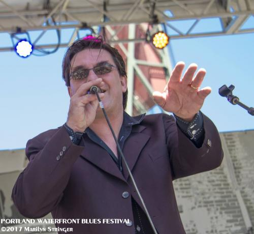Dave Singing @ Blues Fest