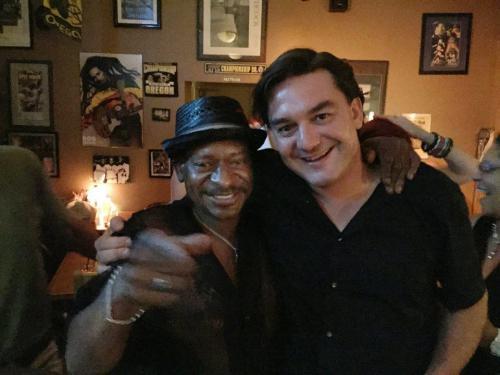 Dave with Randy Monroe